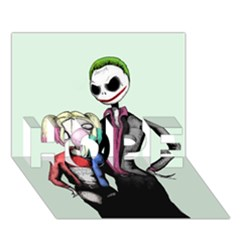 Suicide Nightmare Squad Hope 3d Greeting Card (7x5)