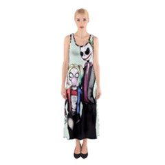 Suicide Nightmare Squad Sleeveless Maxi Dress by lvbart