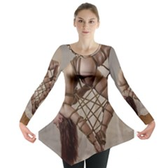 Shibari King of Diamonds Long Sleeve Tunic