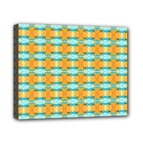 Dragonflies Summer Pattern Canvas 10  X 8