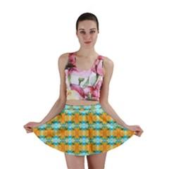 Dragonflies Summer Pattern Mini Skirt by Costasonlineshop
