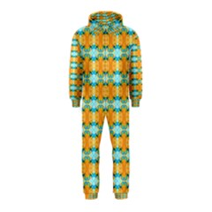 Dragonflies Summer Pattern Hooded Jumpsuit (kids)