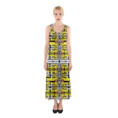 Vaccine Sleeveless Maxi Dress by MRTACPANS