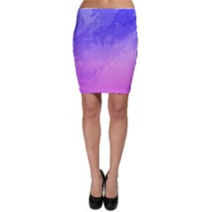 Ombre Purple Pink Bodycon Skirt by BrightVibesDesign