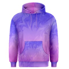 Ombre Purple Pink Men s Pullover Hoodie by BrightVibesDesign
