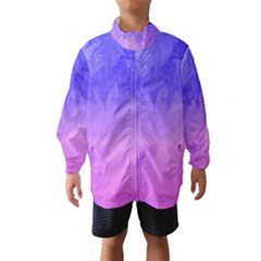 Ombre Purple Pink Wind Breaker (Kids) by BrightVibesDesign