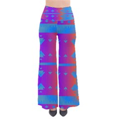 Triangles Gradient                                            Women s Chic Palazzo Pants by LalyLauraFLM