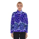 Azurite Blue Flowers Winterwear