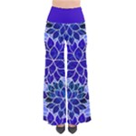 Azurite Blue Flowers Pants
