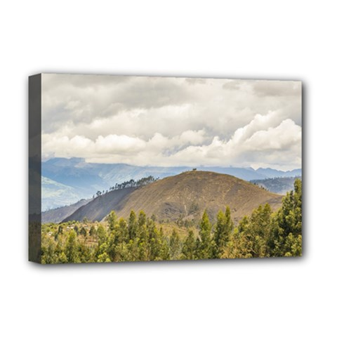 Ecuadorian Landscape At Chimborazo Province Deluxe Canvas 18  X 12   by dflcprints