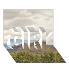 Ecuadorian Landscape At Chimborazo Province Girl 3d Greeting Card (7x5)  by dflcprints