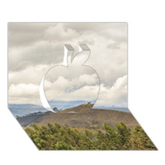 Ecuadorian Landscape At Chimborazo Province Apple 3d Greeting Card (7x5)