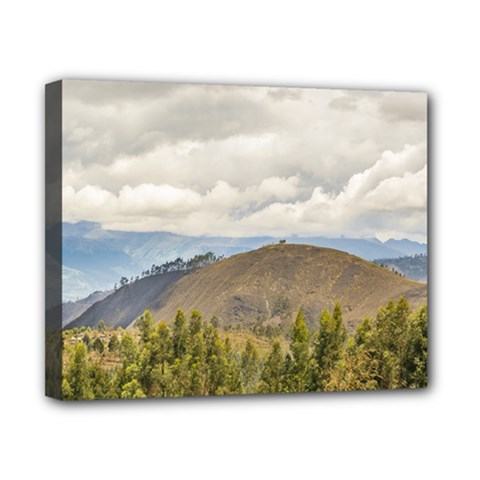 Ecuadorian Landscape At Chimborazo Province Canvas 10  X 8  by dflcprints