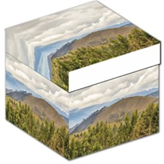 Ecuadorian Landscape At Chimborazo Province Storage Stool 12   by dflcprints