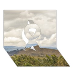 Ecuadorian Landscape At Chimborazo Province Ribbon 3d Greeting Card (7x5)  by dflcprints
