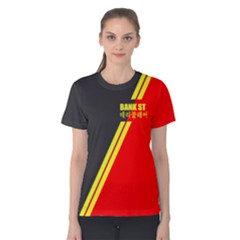 BankSt-10 Women s Cotton Tee by TheDean