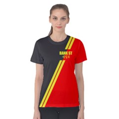 BankSt-6 Women s Cotton Tee by TheDean