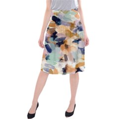 Lee Abstract Midi Beach Skirt by LisaGuenDesign