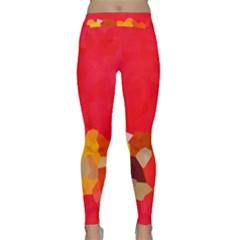 Red2 Yoga Leggings