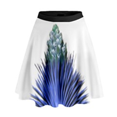 Joshua Tree Blues High Waist Skirt by JoshuaTreeClothingCo