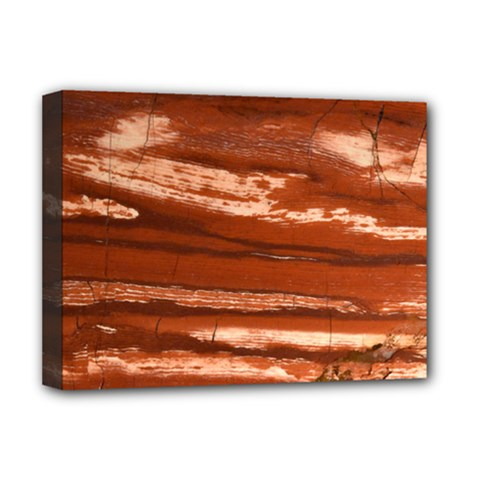 Red Earth Natural Deluxe Canvas 16  X 12   by UniqueCre8ion