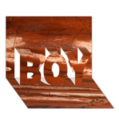 Red Earth Natural Boy 3d Greeting Card (7x5) by UniqueCre8ion