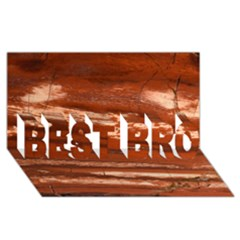 Red Earth Natural Best Bro 3d Greeting Card (8x4)  by UniqueCre8ion