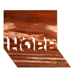 Red Earth Natural Hope 3d Greeting Card (7x5)  by UniqueCre8ion