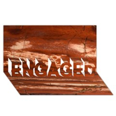 Red Earth Natural Engaged 3d Greeting Card (8x4)  by UniqueCre8ion