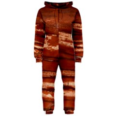 Red Earth Natural Hooded Jumpsuit (ladies)  by UniqueCre8ion