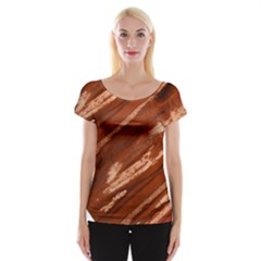 Red Earth Natural Women s Cap Sleeve Top by UniqueCre8ion