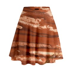 Red Earth Natural High Waist Skirt by UniqueCre8ion