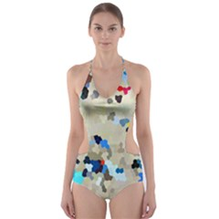 Beach333 Cut Out One Piece Swimsuit by BIBILOVER