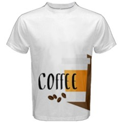 Coffee Men s Cotton Tee by Contest2305378