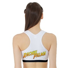 Women s Reversible Sports Bra with Border Inside Back