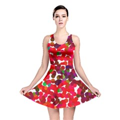 Abstract Land2 111 Reversible Skater Dress by BIBILOVER