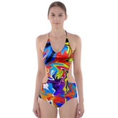 Free Cut Out One Piece Swimsuit by BIBILOVER