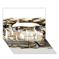 Vintage Chevrolet Pick Up Truck Hope 3d Greeting Card (7x5)  by MichaelMoriartyPhotography