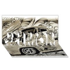 Old Ford Pick Up Truck  #1 Mom 3d Greeting Cards (8x4)