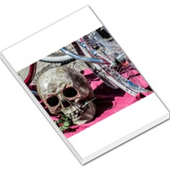 Skull And Bike Large Memo Pads