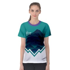 Climb And Conquer Women s Sport Mesh Tee by Contest2477599