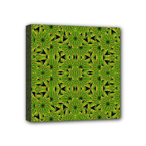 Geometric African Print Mini Canvas 4  X 4  by dflcprints