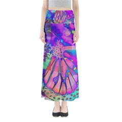 Psychedelic Butterfly Maxi Skirts