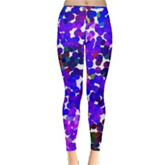 Abstract Land2 11 Leggings  by BIBILOVER
