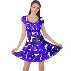 Abstract Land2 11 Cap Sleeve Dresses by BIBILOVER