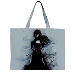 He Never Came Large Tote Bag by lvbart
