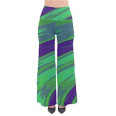 Swish Green Blue Pants by BrightVibesDesign