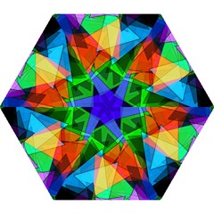 Colorful Triangles                                                                  Umbrella by LalyLauraFLM