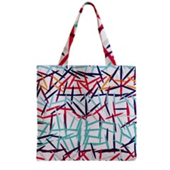 Strokes                                                                    Grocery Tote Bag by LalyLauraFLM