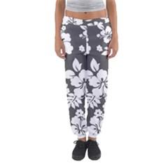 Gray Hawaiian Women s Jogger Sweatpants by AlohaStore
